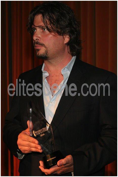Liz Rodriguez, Brett A Hart,  EMR Media's Photos - Beverly Hills Film Festival 2010