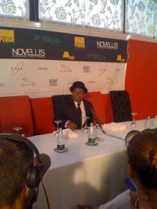 EMR Media PR - Tito Jackson Press Conference - Novelli Restaurant Marbella - Liz Rodriguez