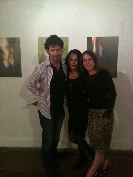 Octagon Art Exhibition Matthew John Film Producer Susanna Zalinskyj