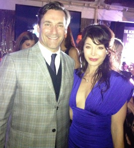 KC and Jon Hamm